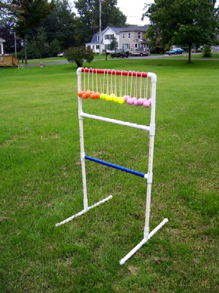 Ladder Golf Scoring and Rules: If you look on the internet, you'll find many different rules for the game. So it was determined by many people I know who have the game that the rules are determined by the owner of the game.